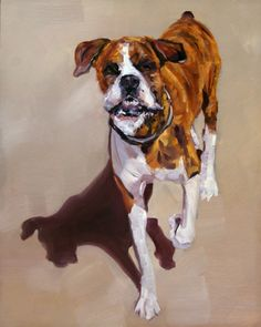 A Face Only A Mother Can Love!, painting by artist Nancy Spielman
