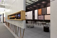Exhibition stand for Faktura.UA by YOD Design Lab , via Behance