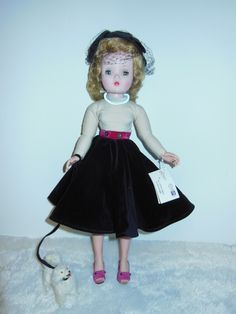 Vintage Madame Alexander Cissy Doll w Box HT Dog Abraham Strauss 1956 | eBay