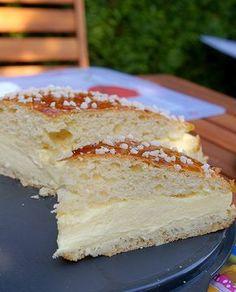 La tarts tropézienne. Une tarte crémeuse et super bonne!!