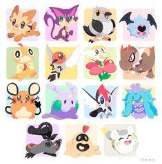 some more pokemon!  pokemon stickers: sharmie.tictail.com