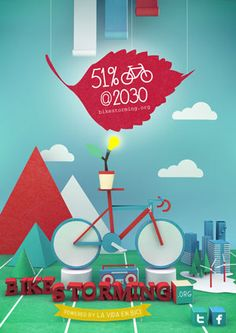 Bikestorming: A collaboration platform to make bicycles the main form transportation in cities across on the planet. Bicycle Art, Green Ideas, Book Illustration, Bicycles, Illustrations Posters, Collaboration, Transportation, Cities, Platform