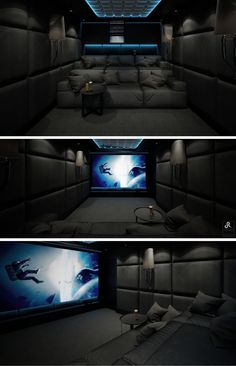 Numerous home theater seating choices for you to explore. See a lot more ideas concerning Home theater seats, Home theater and also Theater seating. Home Theater Room Design, Home Cinema Room, Home Theater Setup, At Home Movie Theater, Home Theater Rooms, Home Theater Seating, Home Room Design, Dream Home Design, Modern House Design
