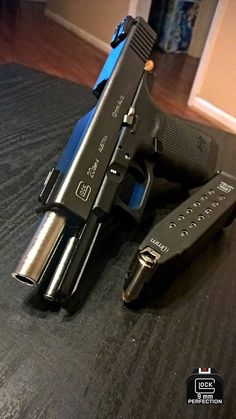 Glock 20 in 10mm. A very capable defender.
