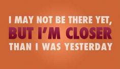 Persevere.