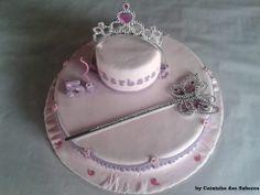 Bolo de aniversário da Barbara - A Princesa
