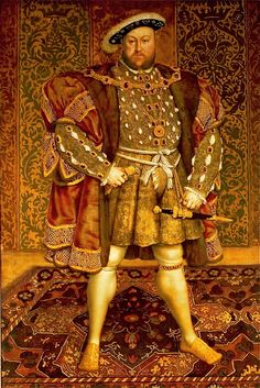 Hans Holbein the Youngers portrait of King Henry VIII