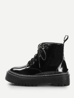 Botas martin con cordón Zapatos De Vestir Mujer a41be9d48c1