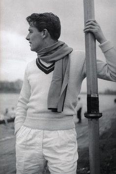 Tennis Sweater & Scarf.