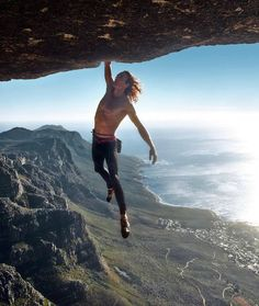 Matt Bush hangs out above Cape Town, South Africa