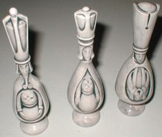 chess pieces...too cool