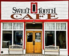 Sweet Tooth Cafe in Skagway, Alaska. I enjoy walking around small ...