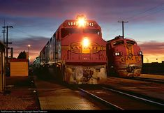 RailPictures.Net Photo: ATSF 5943 Atchison, Topeka & Santa Fe (ATSF) EMD FP45 at La Junta, Colorado by Steve Patterson