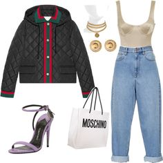 Untitled #579 by ga-gs on Polyvore featuring polyvore, fashion, style, Gucci, Étoile Isabel Marant, Tom Ford, Moschino, Virgins Saints & Angels, Versace and clothing