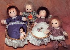 Little twins are Soft dolls in all different face expression, wig, eyes, mouth embroidery. With your imagination you can sew them in many ways! PDF 10 pages. High about 20 cm. Pattern is on a full size.