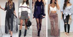 Girls fashion in clubs barcelona Autumn Fashion Women Fall Outfits, Office Fashion Women, College Fashion, Womens Fashion For Work, Girl Fashion, Casual Chic Style, Fashion Over 40, Casual Fall, Street Style Women