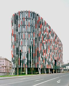 Main Point Karlin Office Building in Prague by Atelier DaM