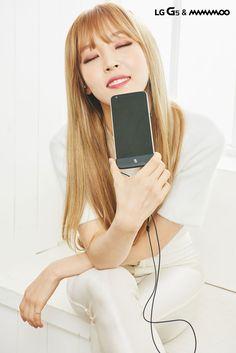 LG G5 & MAMAMOO - Moonbyul