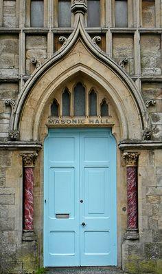 Door | Masonic Hall, Green Lane, Redruth (1876)