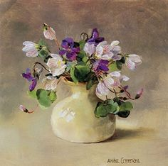 Wood Sorrel - Blank Card | Mill House Fine Art – Publishers of Anne Cotterill Flower Art
