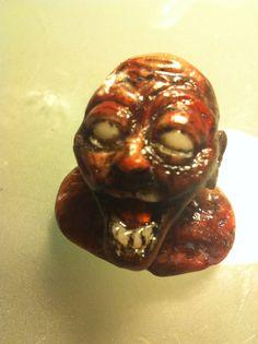 Zombie lavet af cernit