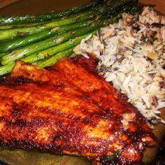 "BBQ Smoked Salmon~recipe on my ""Inspiring MarthaDeanRamos"" board."