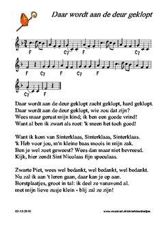 Zelf spelen Sinterklaas-liedjes: Daar wordt aan de deur geklopt