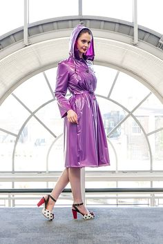 1950's Pleated Raincoat