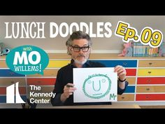 LUNCH DOODLES with Mo Willems! Kennedy Center Education Artist-in-Residence at Home Mo invites you into his studio, doodles, and teaches you . Kids Learning Activities, Learning Resources, First Grade Spelling, Children's Book Week, American Library Association, Mo Willems, Kids Lighting, Book Authors, Childrens Books