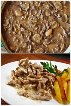 Stroganoff - Receita Original do Leste Europeu