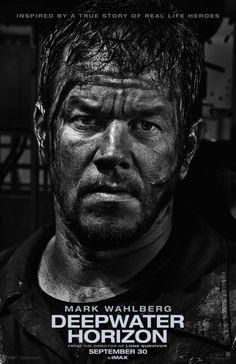 Deepwater Horizon - 2016 - Mark Wahlberg - true story - movie poster - action