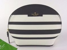 Kate Spade WLRU2721 Keri Arbour Hill BonBon Striped Small Dome Cosmetic Case a71d2804c542d