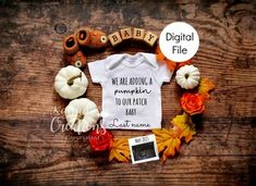 Thanksgiving Baby Announcement, Thanksgiving Pregnancy Announcement, Cute Baby Announcements, Fall Maternity, Rainbow Baby, Pregnancy Photos, Second Pregnancy, Pregnancy Info, Pregnancy Humor