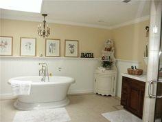 Airy Traditional Bathroom by Pamela Green on HomePortfolio