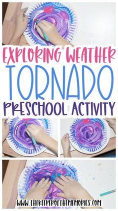 Weather Activities Preschool, Weather Science, Preschool Lessons, Preschool Learning, Art Activities For Preschoolers, Summer Preschool Activities, Weather Art, Wild Weather, Stem Activities