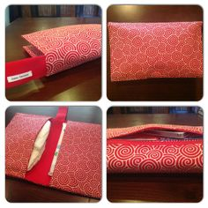 Red Swirls Diaper Clutch / Wristlet by JerseyPeachDesigns on Etsy, $35.00