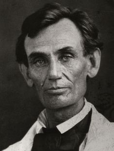 ABRAHAM LINCOLN (1809-1865) 16th President of the United States, who succesfully led our country through the monumental crisis of the Civil War. He was assasinated shortly after the war ended.