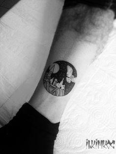 Hogwarts Tattoo #harrypotter #owl #tattoo