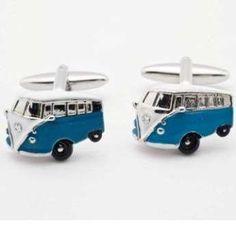 Gemelos Furgoneta VW. http://www.tutunca.es/gemelos-furgoneta-azul
