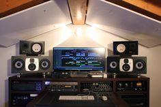 EVE Audio SC407 @ Chunga Studio of Italian DJ Daniele Danieli.