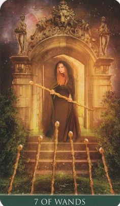 Thelema Tarot Seven 7 of Wands