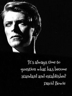 David Bowie quote poster for classroom | jivespin