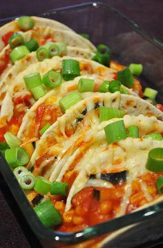 Küchenzaubereien: Überbackene Gemüse-Tortillas