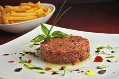Receita do steak tartar do chef › Restaurante Quadrucci ‹ Cozinha Italiana Contemporânea
