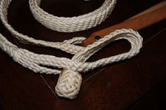 Braided Paracord Split Reins plus Leather by FogHollowStudios