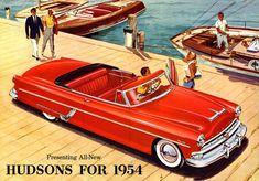Plan59 :: Classic Car Art :: Vintage Ads :: 1954 Hudson Hornet