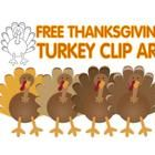 FREE Thanksgiving turkey clip art - Lita Lita