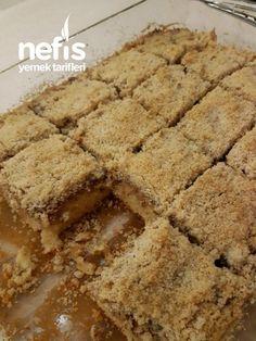 East Dessert Recipes, Desert Recipes, Cake Recipes, Yummy Recipes, Subway Cookie Recipes, Stewed Apples Recipe, Vanilla Magic Custard Cake, Food Platters, Turkish Recipes