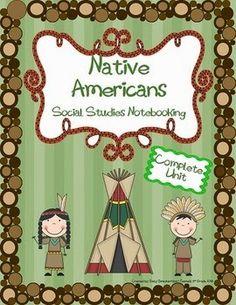 Teaching 5th Grade: Social Studies Notebooking Units