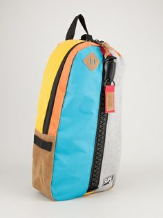 SUPE DESIGN - oversize zip backpack 9